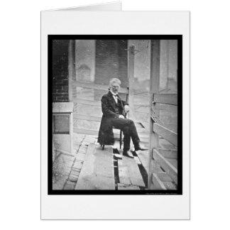 John McAllister Sitting Daguerreotype 1843 Card