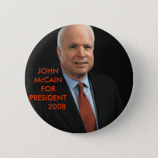 JOHN McCain 2 Inch Round Button