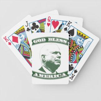 John McCain Bicycle Playing Cards