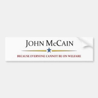 John McCain Bumper Sticker