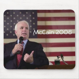 john.mccain, McCain 2008 Mouse Pad
