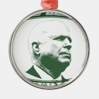John McCain Metal Ornament