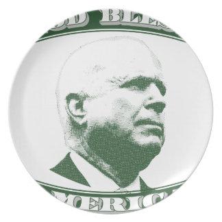 John McCain Plate