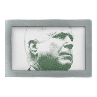 John McCain Rectangular Belt Buckle
