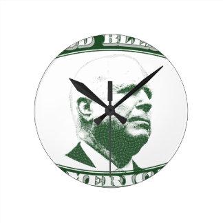 John McCain Round Clock