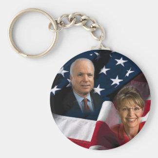 John McCain & Sarah Palin, 2008 Elections Key Chains