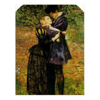 John Millais-Refusal of shelter by a Huguenot Postcard