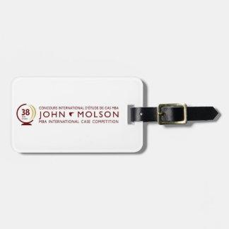 John Molson MICC Luggage Tag