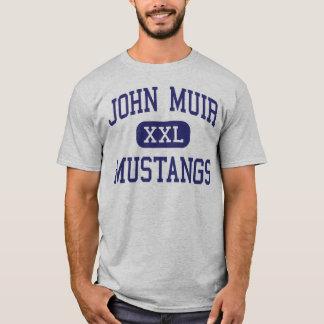 John Muir - Mustangs - High - Pasadena California T-Shirt