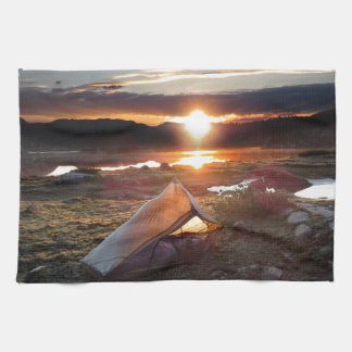 John Muir Trail Camp Sunrise - Sierra Nevada Mount Towels