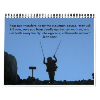John Muir Trail - Customized Wall Calendars