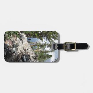 John Muir Trail Hiker - Sierra Nevada Mountains Luggage Tag