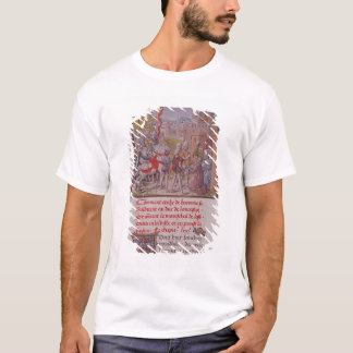 John of Gaunt being received by the citizens T-Shirt