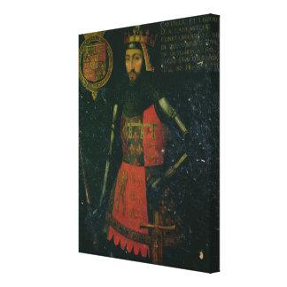 John of Gaunt, Duke of Lancaster Canvas Print