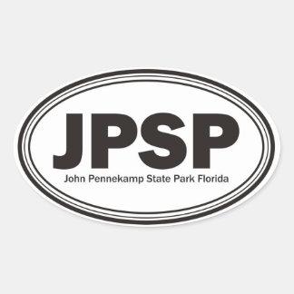John Pennekamp State Park Oval Sticker