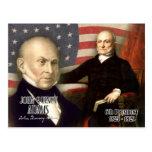 John Quincy Adams - 6th President of the U.S. Postcard