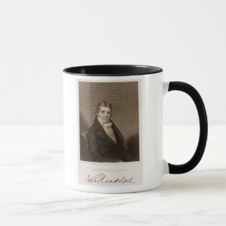 John Randolph (1773-1833) engraved by Thomas B. We Mug