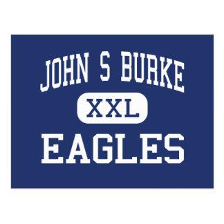 John S Burke - Eagles - Catholic - Goshen New York Postcard