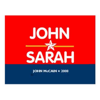 John Sarah Postcard