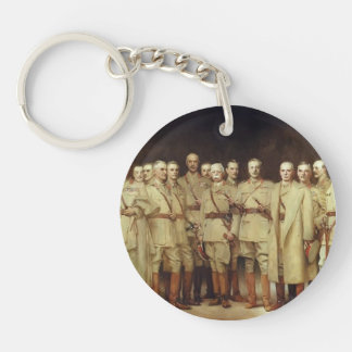 John Sargent- General Officers of World War I Single-Sided Round Acrylic Keychain