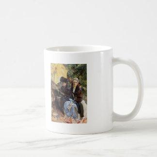 John Sargent-Miss Wedewood,Miss Sargent Sketching Coffee Mug