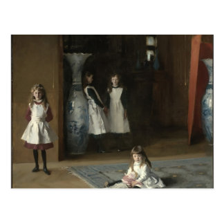 John Sargent- The Daughters of Edward Darley Boit Postcard