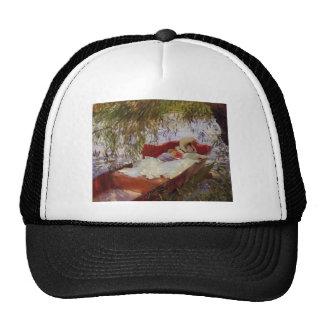 John Sargent- Two Women Asleep in a Punt Trucker Hat