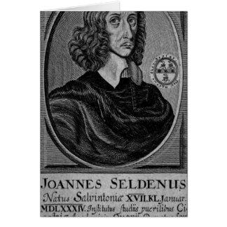 John Selden 1672 Cards