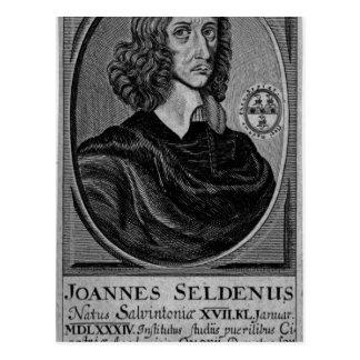 John Selden 1672 Post Cards