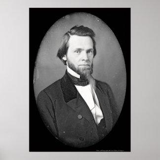 John Sherman Ohio Daguerreotype 1846 Poster