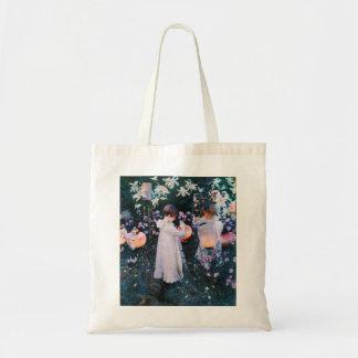 John Singer Sargent Carnation Lily Lily Rose Budget Tote Bag