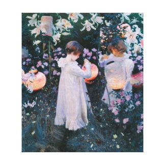 John Singer Sargent Carnation Lily Lily Rose Canvas Print
