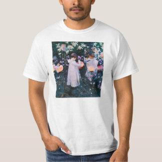 John Singer Sargent Carnation Lily Lily Rose T-Shirt
