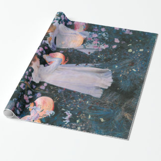 John Singer Sargent Carnation Lily Lily Rose Wrapping Paper
