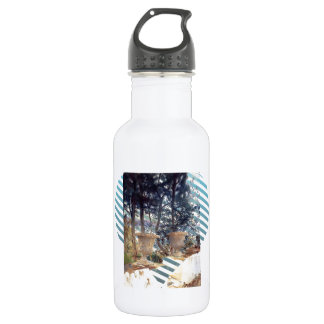 John Singer Sargent: Corfu The Terrace 532 Ml Water Bottle