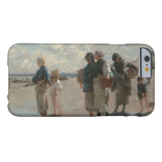 John Singer Sargent - Fishing for Oysters Barely There iPhone 6 Case