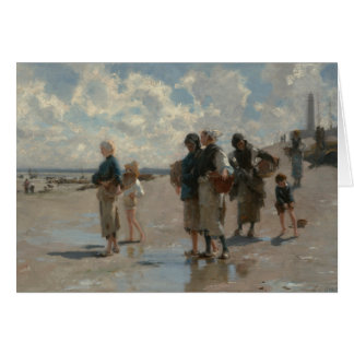 John Singer Sargent - Fishing for Oysters Card