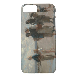 John Singer Sargent - Fishing for Oysters iPhone 7 Case