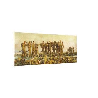 John Singer Sargent - Gassed Canvas Prints