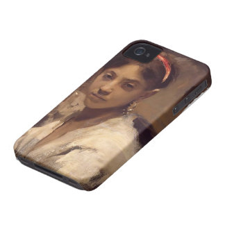 John Singer Sargent- Head of a Capri Girl Case-Mate iPhone 4 Case
