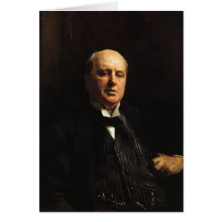 John Singer Sargent- Henry James Card