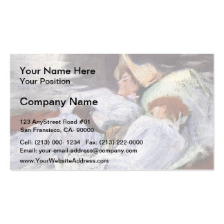 John Singer Sargent- In a Punt Business Card Templates