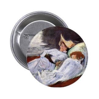 John Singer Sargent- In a Punt Pins