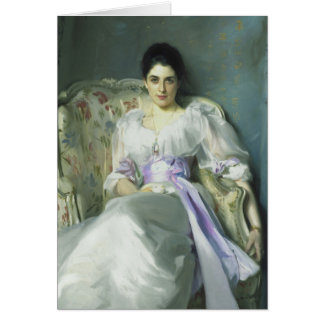 John Singer Sargent Lady Agnew Note Card