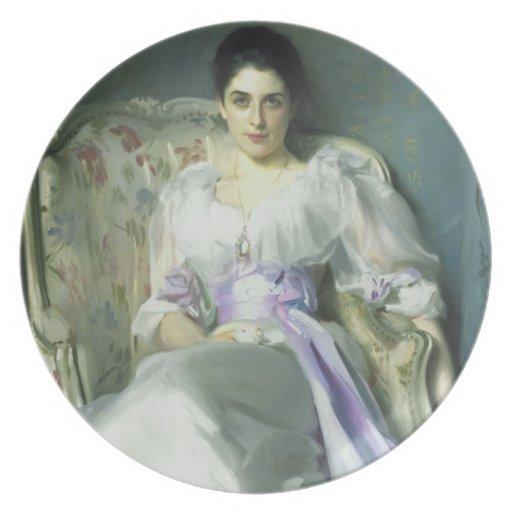 John Singer Sargent Lady Agnew Dinner Plate