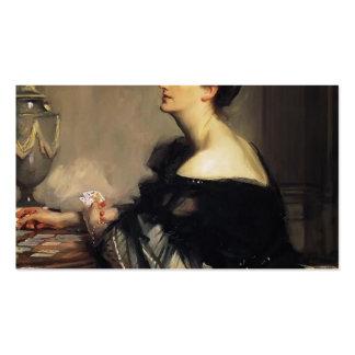 John Singer Sargent- Lady Eden Business Card Templates