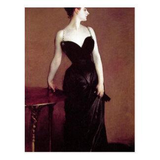 John Singer Sargent Madame X (Madame Pierre Gautre Postcard