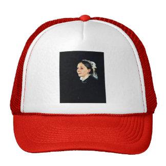 John Singer Sargent- Mrs. Daniel Sargent Curtis Mesh Hat