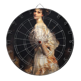 John Singer Sargent - Nancy Astor - Fine Art Dartboard
