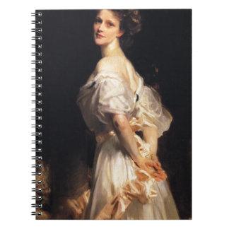 John Singer Sargent - Nancy Astor - Fine Art Notebook